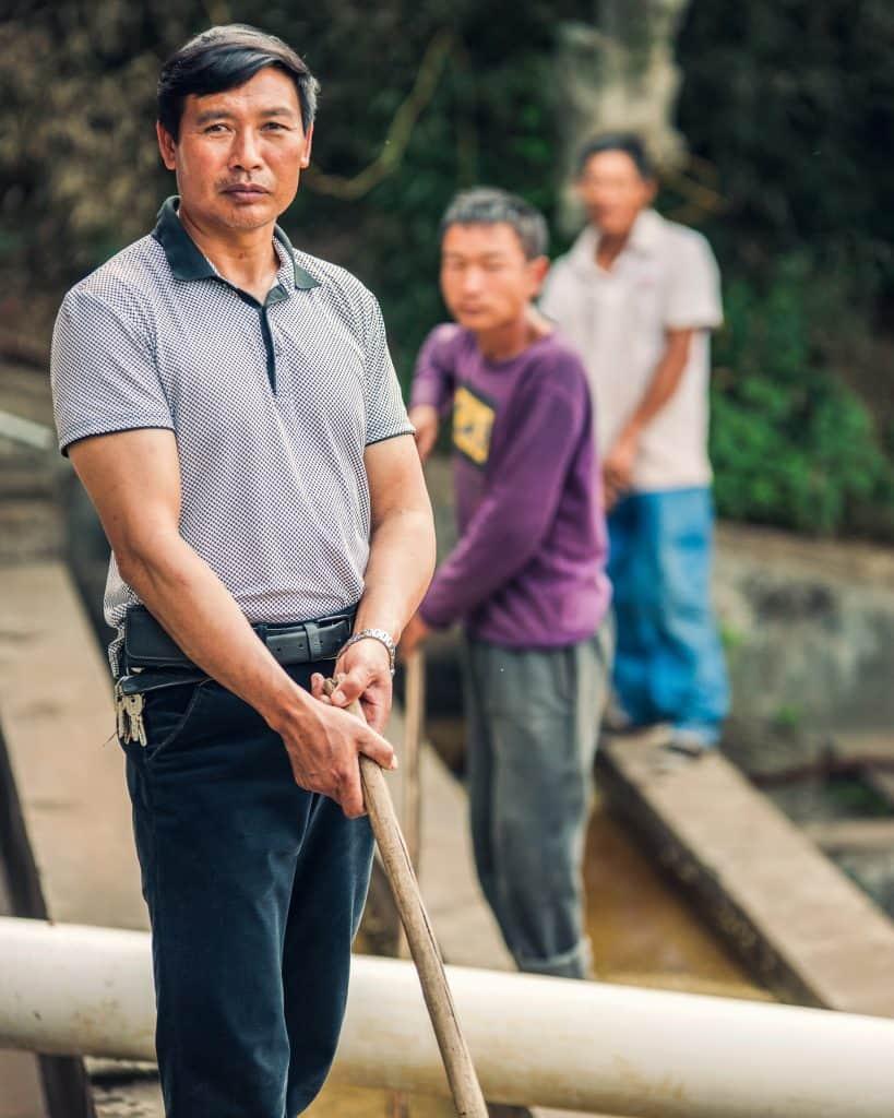 Hu Xixiang, Mangzhang coffee farms, Menglian, Yunnan, China
